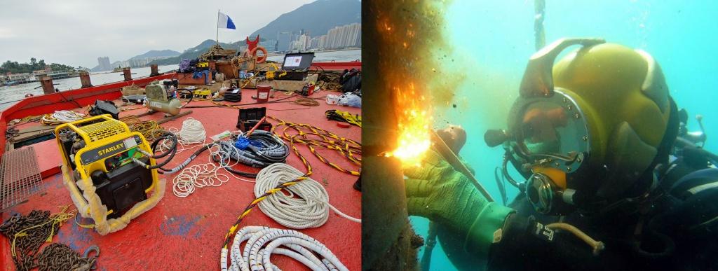 專業工程潛水