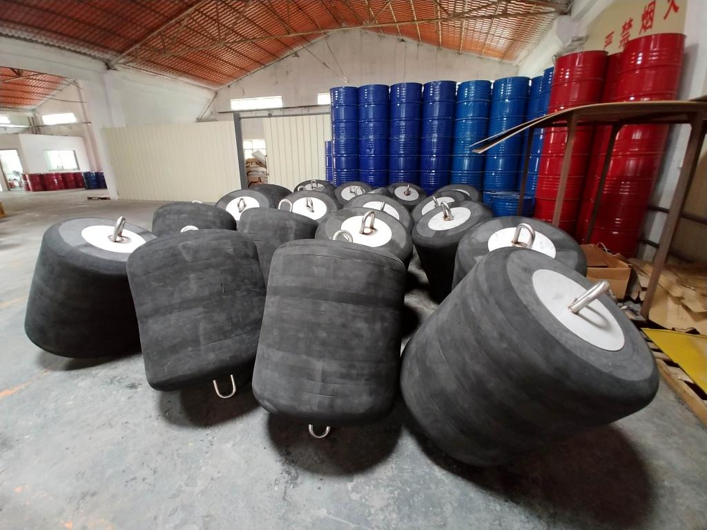 Manufacturing of EVA-Polyurea Buoys